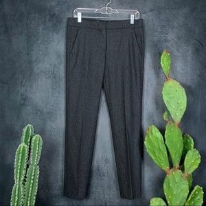 🌵Max Mara Charcoal Wool Blend Pants Trousers 8